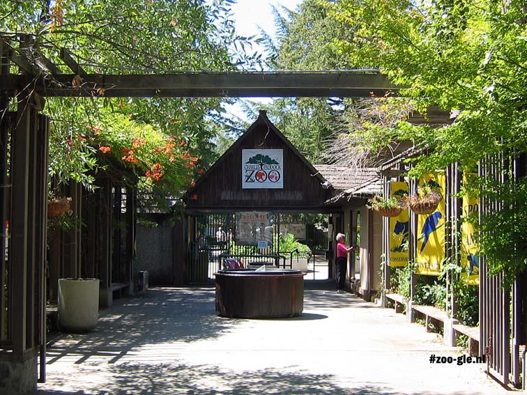 Eind augustus 2006 Ingang Charles Paddock Zoo