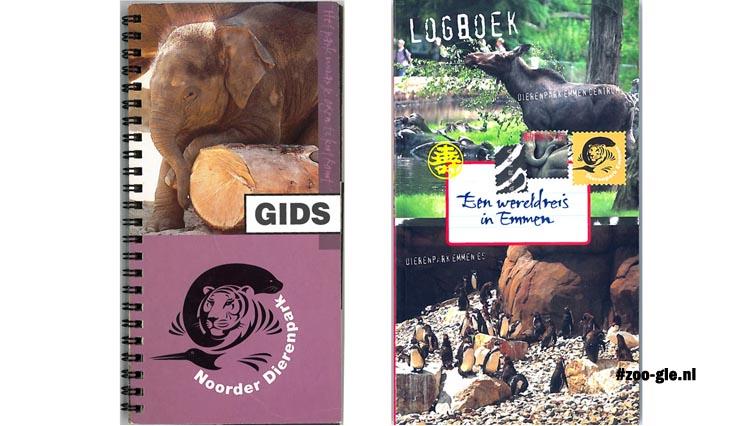 Gidsen dierenpark Emmen, rechts met payoff wereldreis