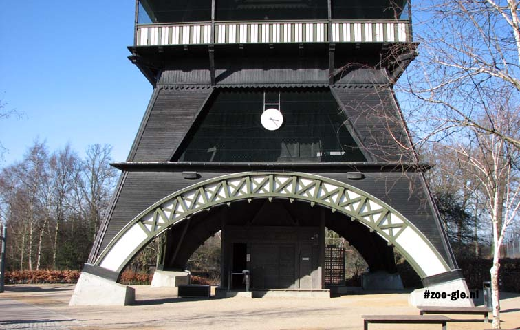2009 The wooden structure has been designed by architect Hirth (1905)