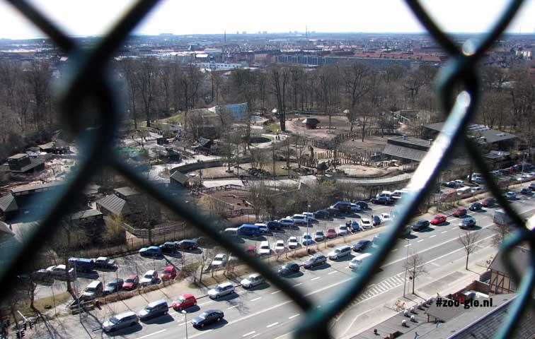 2009 Uitzicht op het nieuwe gedeelte aan de overkant