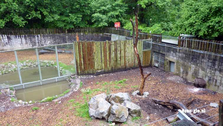 2010 Ljubljana zoo also features an enclosure...