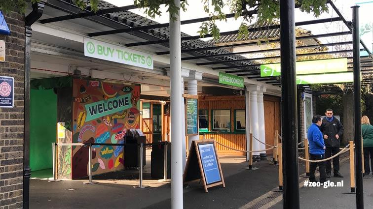 #1 Oktober 2019 Zo kom je binnen bij de dierentuin in Londen