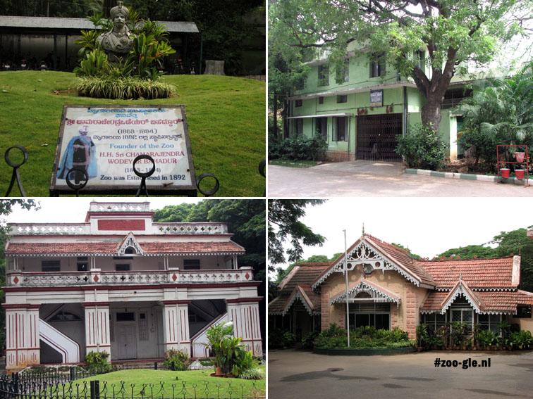 2008 Beeld oprichter en diverse gebouwen in zoo Mysore