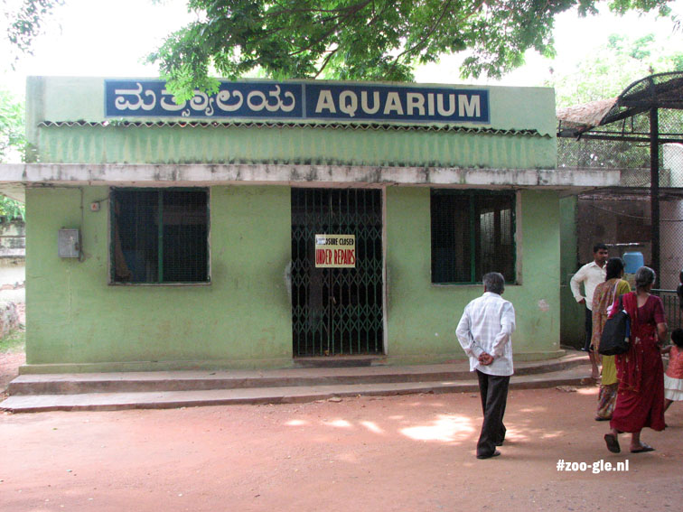 2008 Aquarium closed for renovation