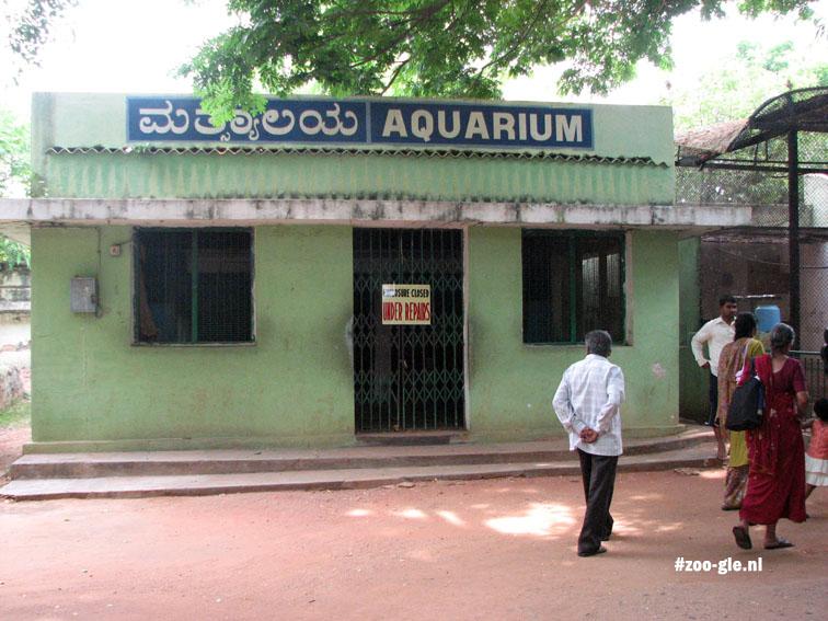 2008 Aquarium is voor een opknapbeurt gesloten