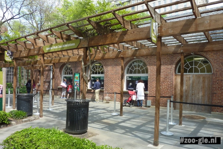 "2011 <span lang=""EN"">Central Park Zoo Admissions</span> – Kassa"