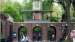 2011 The gate is topped by the Delacorte clock and an animal sculpture carousel