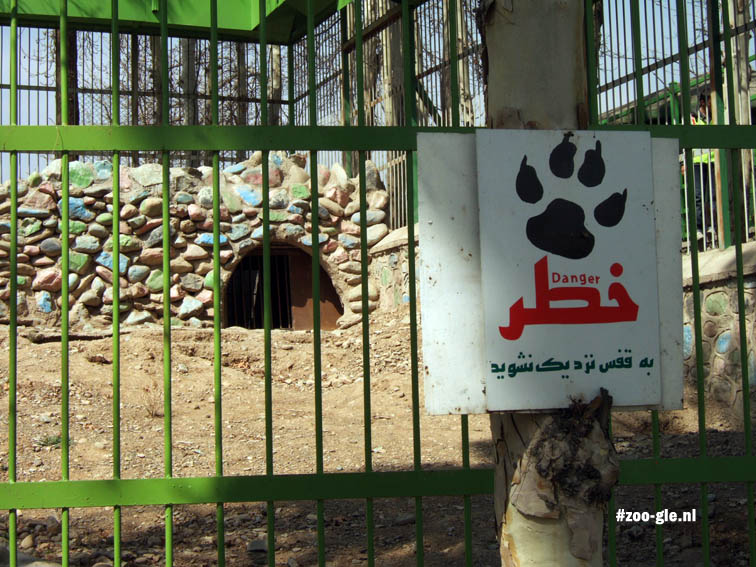 2009 Syrian bear enclosure
