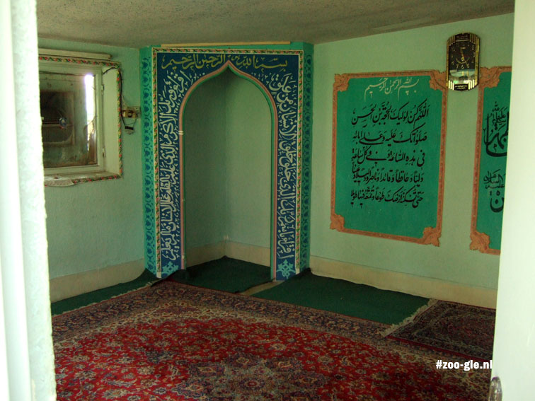2009 Prayer room in the zoo