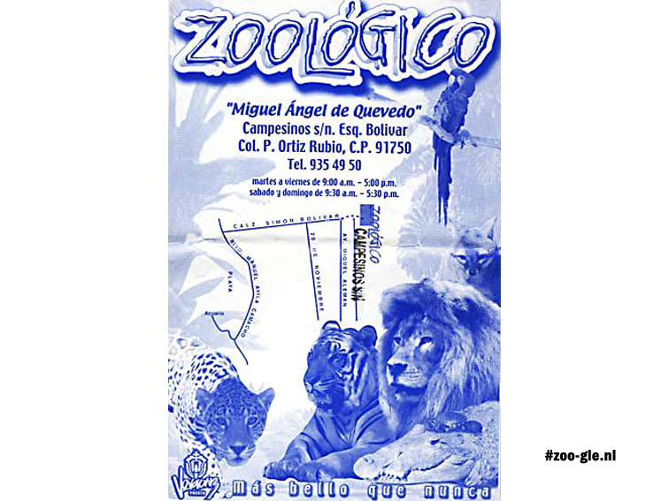 August 2004, A zoo in Veracruz