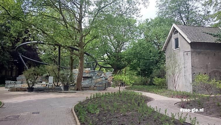 2016 May jaguar enclosure under construction