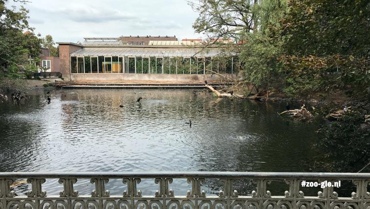 2018 september reptielenhuis. Salms brug wordt gerenoveerd
