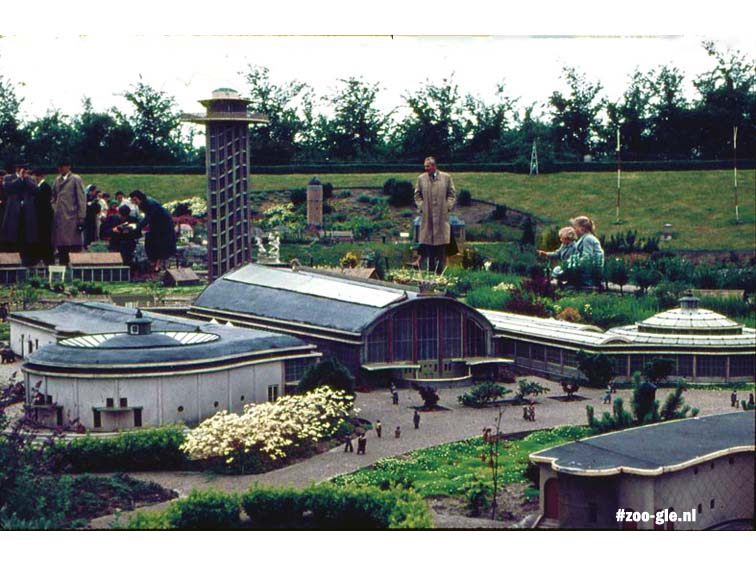 Rivièrahal in miniature park Madurodam, 20th century