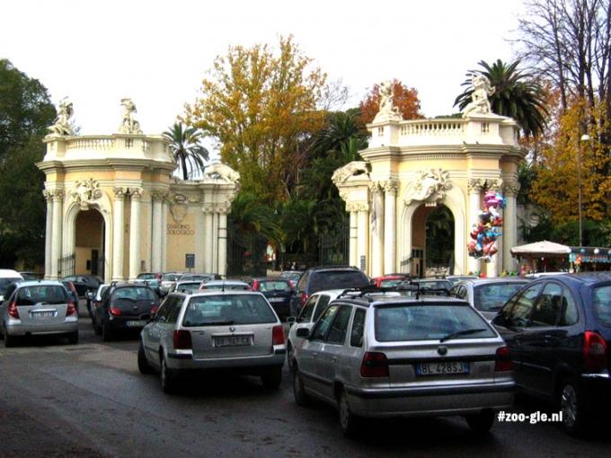 2005 Ingang Bioparco di Roma in park Villa Borghese