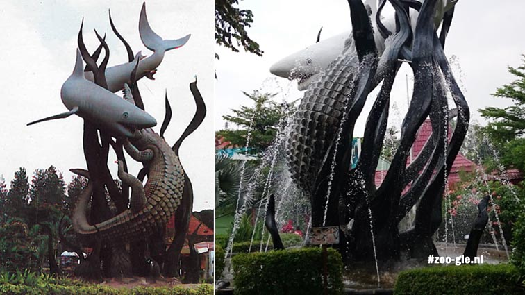 Sura meaning Shark and Baya meaning crocodile, 1996 vs 2017