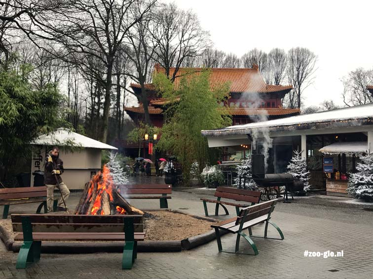 2017 Contouren van Chinese tempel Pandasia
