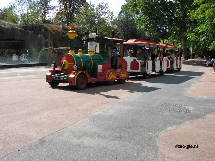 2008 Vervoer in de dierentuin