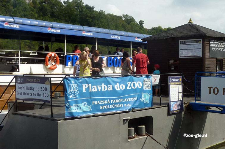 2012 Take a scenic boat ride to get to the zoo