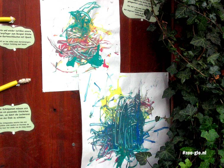 2007 Chimpanzee's paintings...