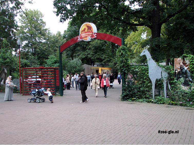 September 2007 Entrance Adventure Zoo Hannover