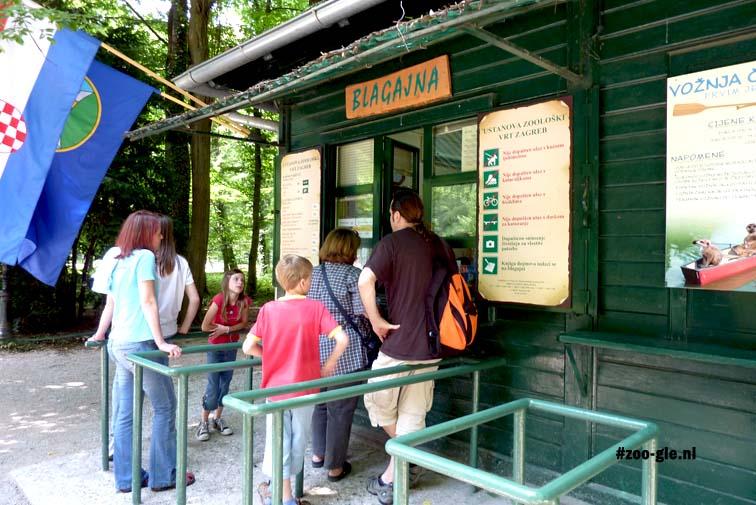 2010 Kaartverkoop kiosk Zagreb zoo