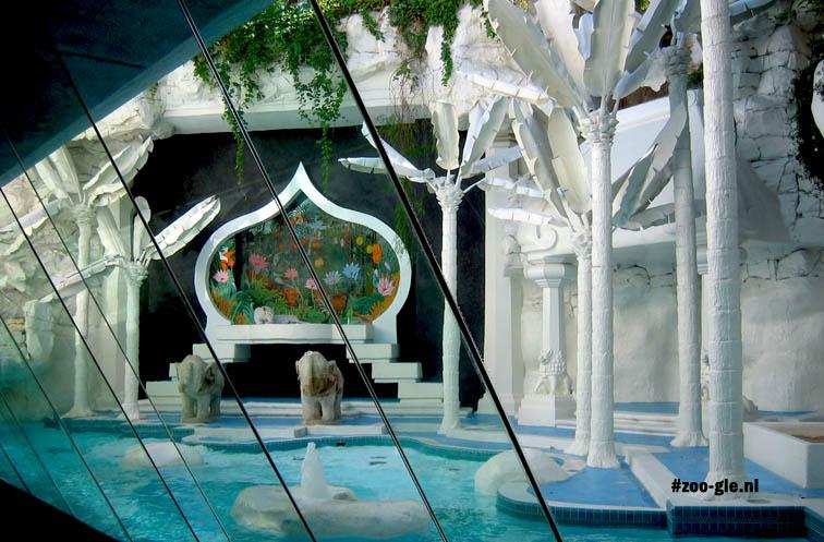 2006 The Mirage White Tiger Habitat