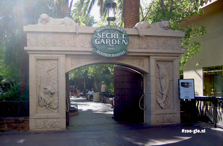 2006 Entrance Siegfried & Roy's Secret Garden