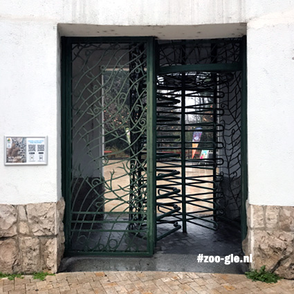 2019 Revolving door at the entrance of Zoo Budapest