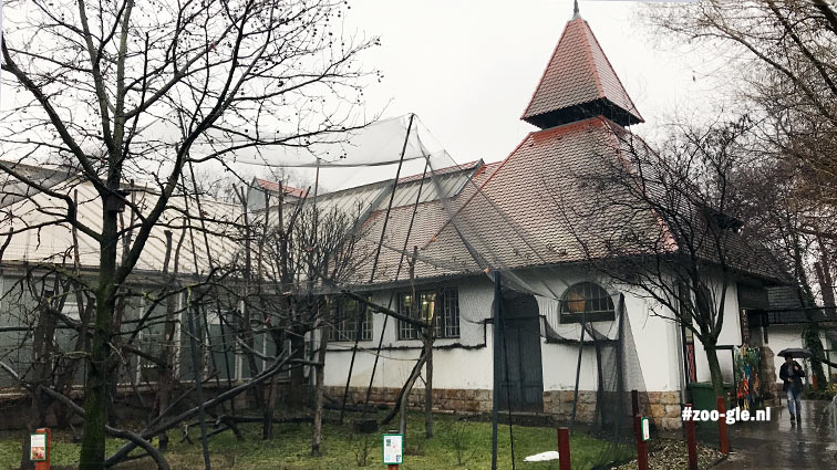 2019 In 1936, the Kós and Zrumeczky Monkey House got the glass-roofed wing