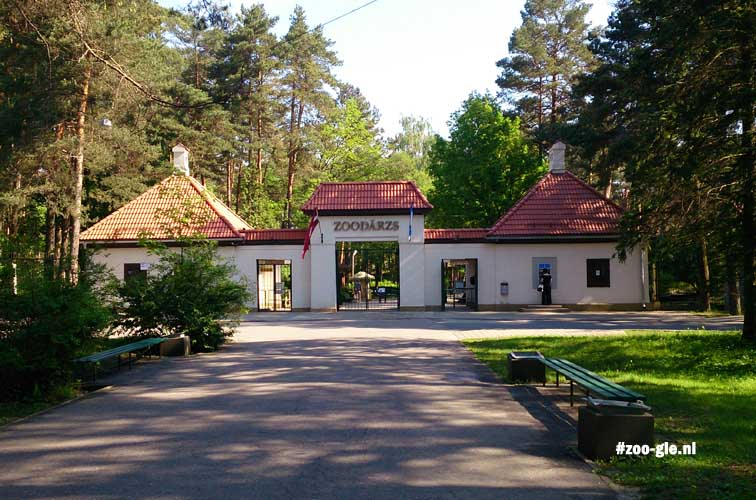 2014 Ingang zoo Riga