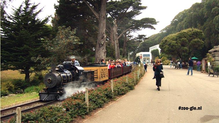 2006 Little Puffer Miniature Steam Train San Francisco Zoo