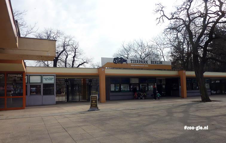 April 2013 Entrance Tierpark Berlin Friedrichsfelde