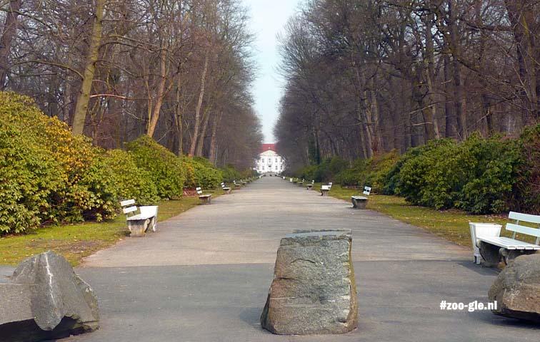 2013 Zichtlijn naar Schloss Friedrichsfelde
