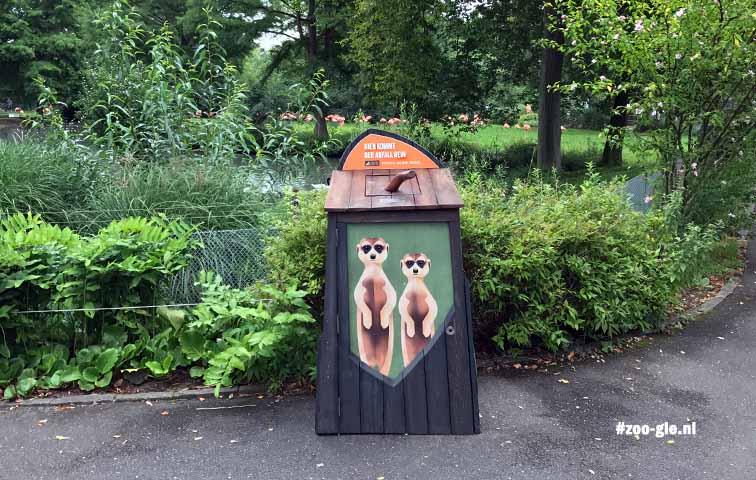 2017 Waste bin signage