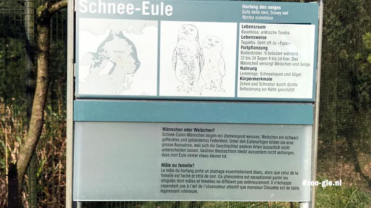 2018 Zoo doen ze aan educatie, Duits en Frans