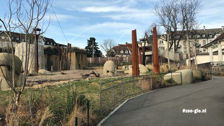 2018 Tembea, outdoor elephant enclosure