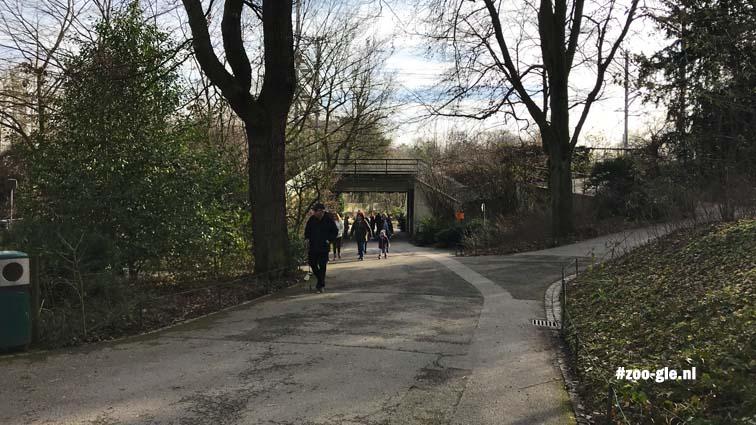 2018 Tunnel onder spoorweg naar de Sauter Garten