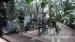 2018 Regenwoudkas met daarin veelhoekige volières met daarin tropische dieren en een verzorger