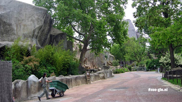 2006 The path to the great rock in the 1930s garden