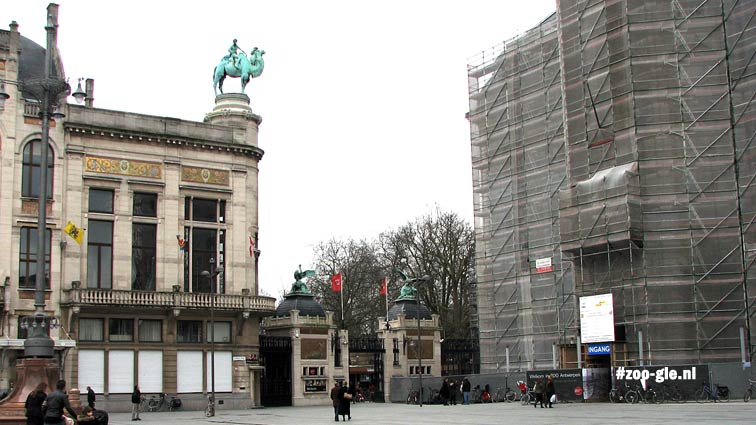 2008 Art Nouveau-ingang zoo Antwerpen