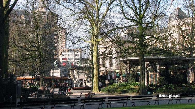 2009 Flamingo Square the kiosk 1947 on the right