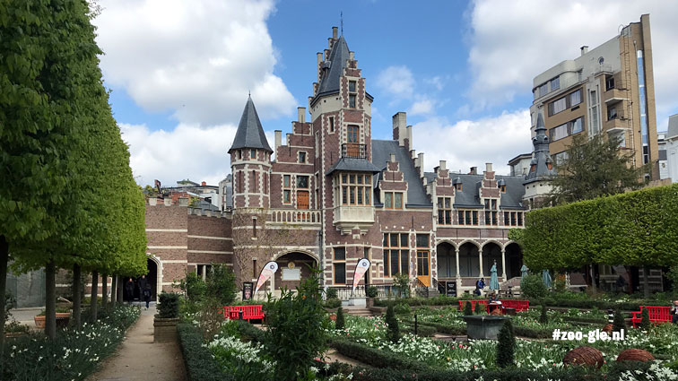 2019 Flemish garden and Dairy in neo-Flemish Renaissance style