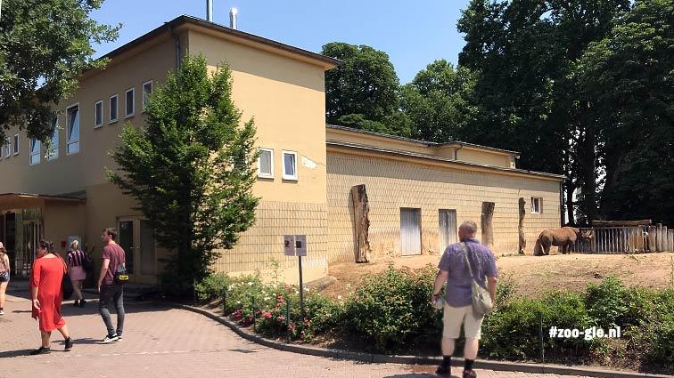 2018 Olifantenhuis 1873, nu neushoornhuis