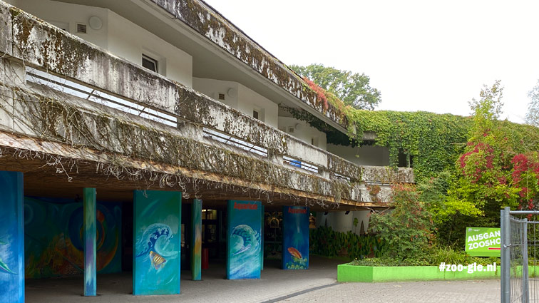 2020 Begroeiing bij het Aquarium, tand des tijds